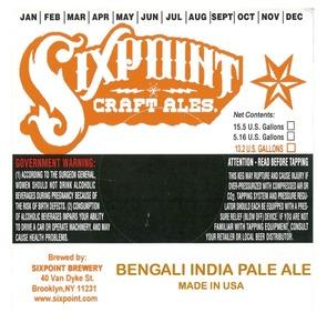 Sixpoint Craft Ales Bengali