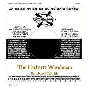 New Holland Brewing Company Carhartt Woodsman
