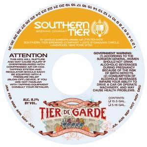 Southern Tier Brewing Company Tier De Garde