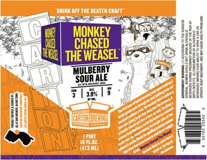 Carton Brewing Company Monkey Chased The Weasel