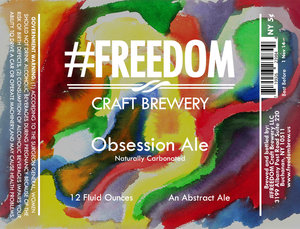 #freedom Craft Brewery Obsession Ale