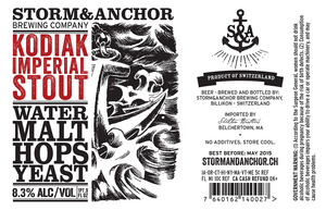 Storm & Anchor Kodiak