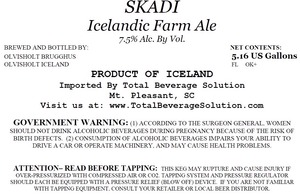 Skadi Icelandic Farm Ale