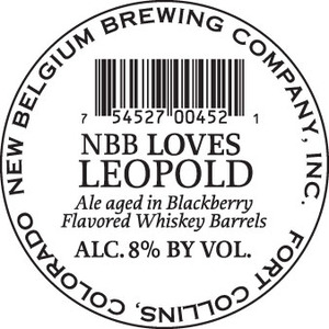 New Belgium Brewing Company Nbb Loves Leopold