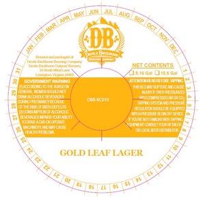 Devils Backbone Brewing Company Gold Leaf