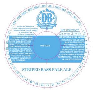 Devils Backbone Brewing Company Striped Bass