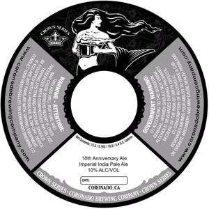 Coronado Brewing Company 18th Anniversary
