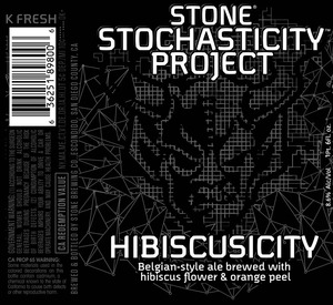 Stone Stochasticity Project Hibiscusicity