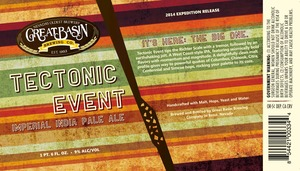 Great Basin Brewing Co. Tectonic Event