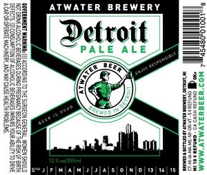 Atwater Brewery Detroit Pale