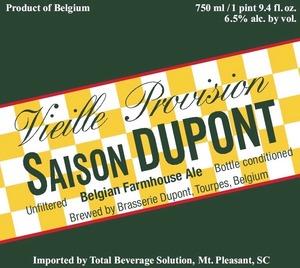Saison Dupont Belgian Farmhouse