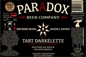Paradox Beer Company Tart Darkelette