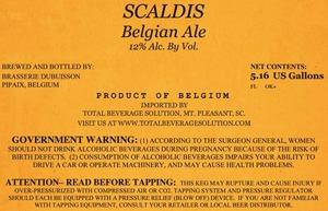 Scaldis Belgian Ale