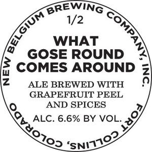 New Belgium Brewing Company What Gose Round Comes Around