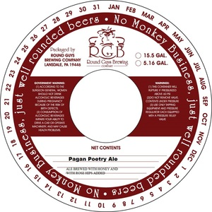 Round Guys Brewing Company Pagan Poetry
