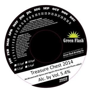 Green Flash Brewing Company Treasure Chest 2014