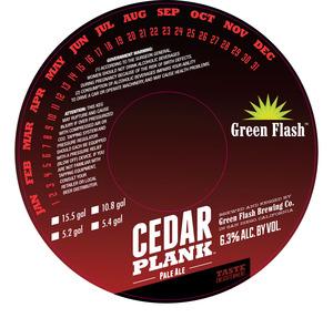 Green Flash Brewing Company Cedar Plank