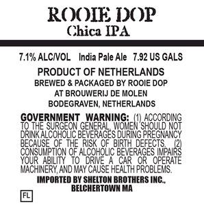 Rooie Dop Chica IPA