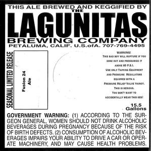The Lagunitas Brewing Company Fusion 24