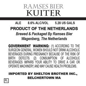 Ramses Bier Kuiter June 2014