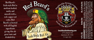 Swashbuckler Brewing Company Redbeard's Irish-style Red