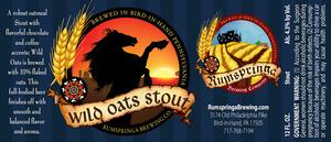 Rumspringa Wild Oats Stout