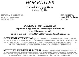 Hop Ruiter Blond Hoppy Beer