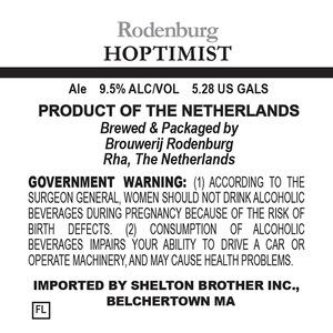 Brouwerij Rodenburg Hoptimist