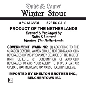 Duits & Lauret Winter Stout