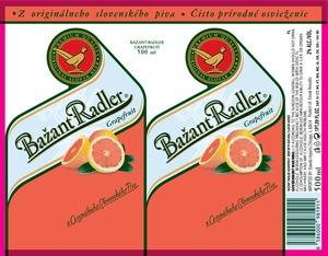 Bazant Radler Grapefruit
