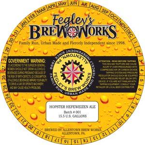 Fegley's Brew Works Hopster Hefeweizen