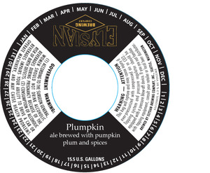 Elysian Brewing Company Plumpkin