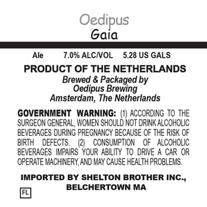 Oedipus Brewing Gaia