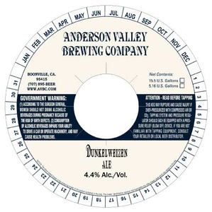 Anderson Valley Brewing Company Dunkelweizen
