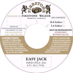 Firestone Walker Brewing Company Easy Jack