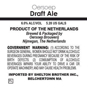 Oersoep Brouwerij Draft Ale