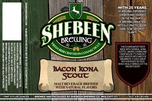 Shebeen Brewing Company Bacon Kona Stout