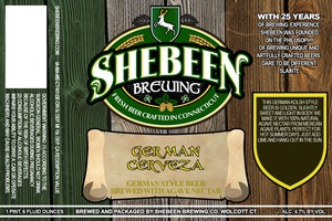 Shebeen Brewing Company German Cerveza