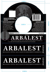 Stone Brewing Co Arbalest