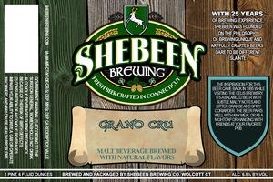 Shebeen Brewing Company Grand Cru