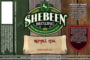 Shebeen Brewing Company Royal IPA