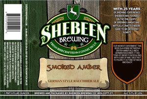 Shebeen Brewing Company Smoked Amber