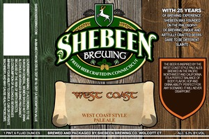Shebeen Brewing Company West Coast