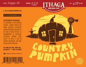 Ithaca Beer Company Country Pumpkin