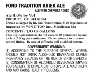 Fond Tradition Kriek