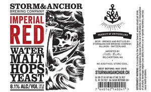 Storm & Anchor Imperial Red