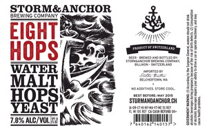 Storm & Anchor Eight Hop