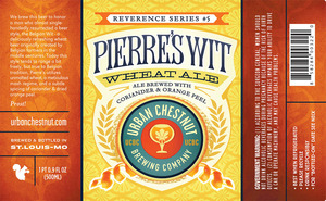Urban Chestnut Brewing Company Pierre's Wit