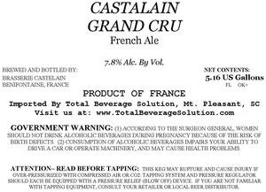 Castalain Grand Cru