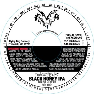 Flying Dog Black Honey IPA